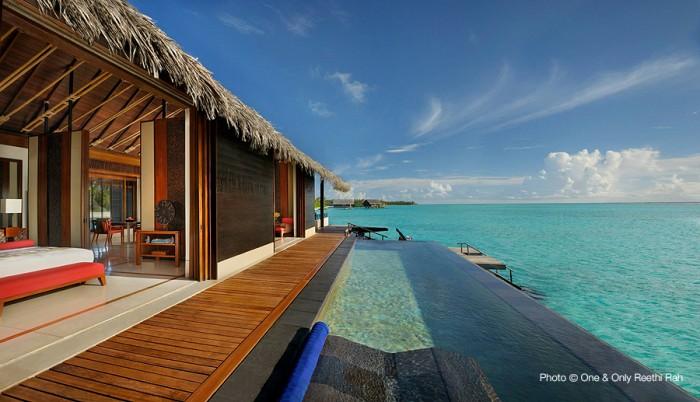 One & Only Reethi Rah TOP 10 Meilleurs Hôtels des Maldives 2014