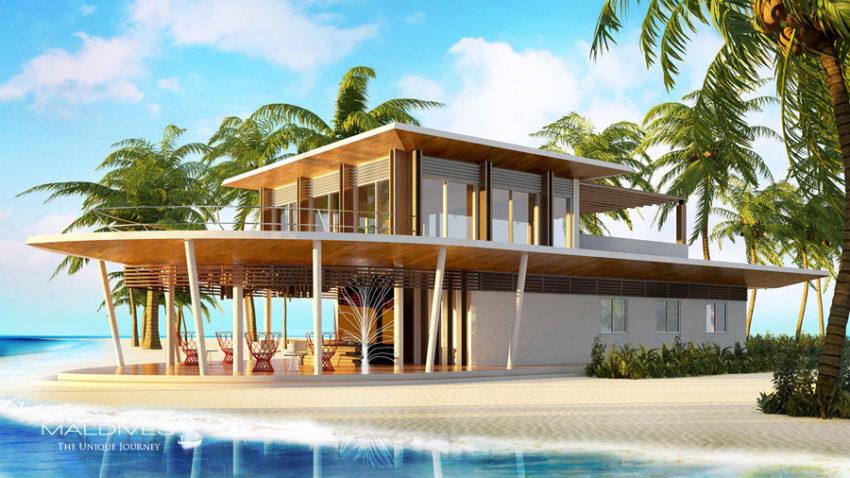 ouverture nouvel hôtel maldives 2017 lux north male