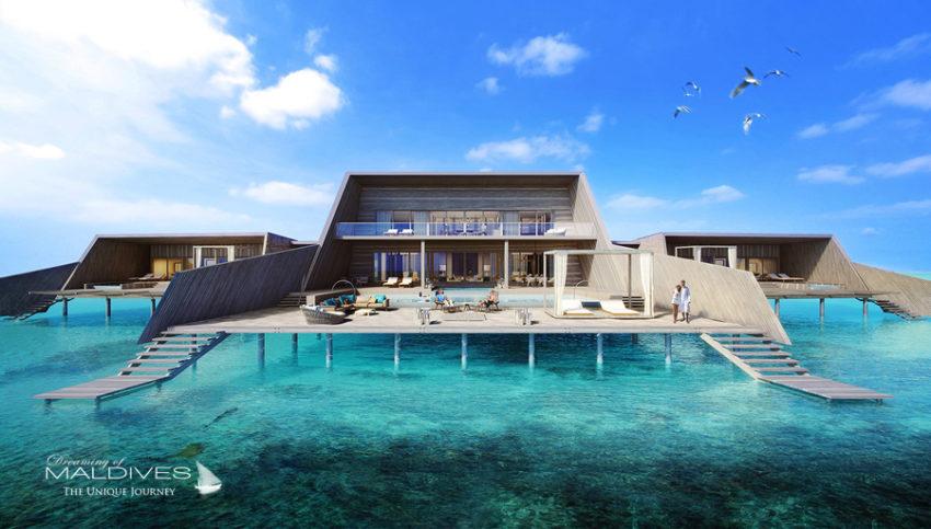 ouverture nouvel hôtel maldives 2016 st regis vommuli