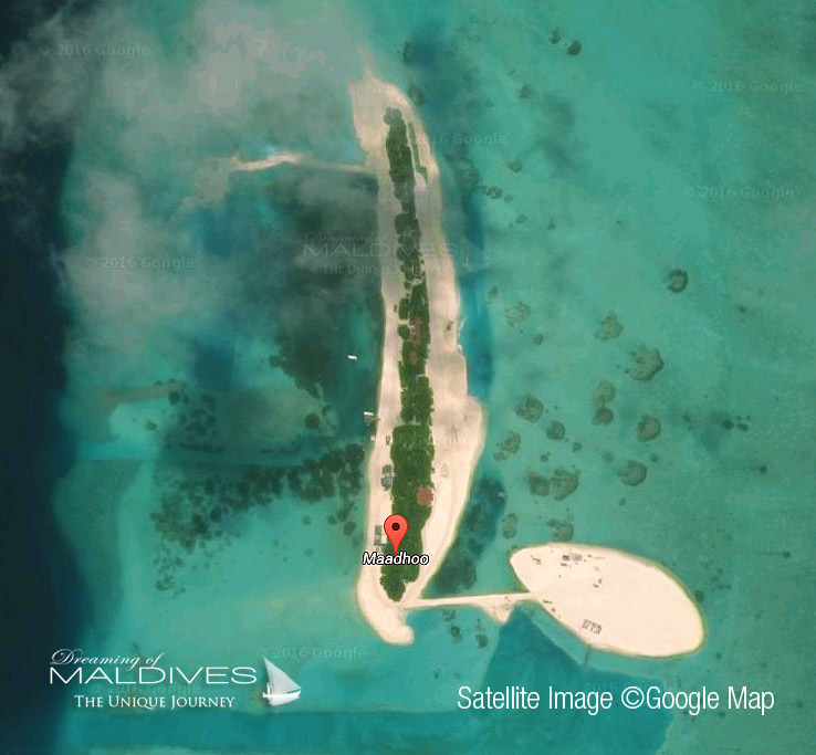 Vue Satellite OZEN Maldives