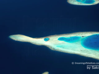 Photo Aérienne des Maldives - Les Récifs vus du Ciel