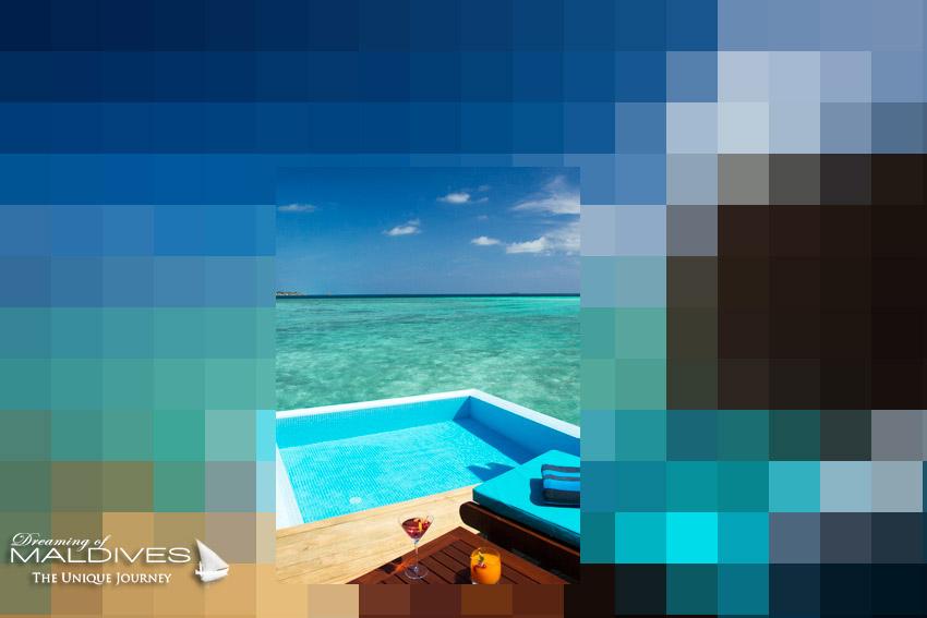 Maldives Jeu concours : Quelle Vue Magnifique ! Mais de quel Hôtel d'agit-il ?
