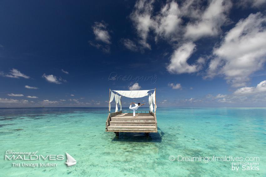 La Terrasse Flottante Le Piano à Baros Maldives