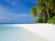 plage de rêve aux Maldives
