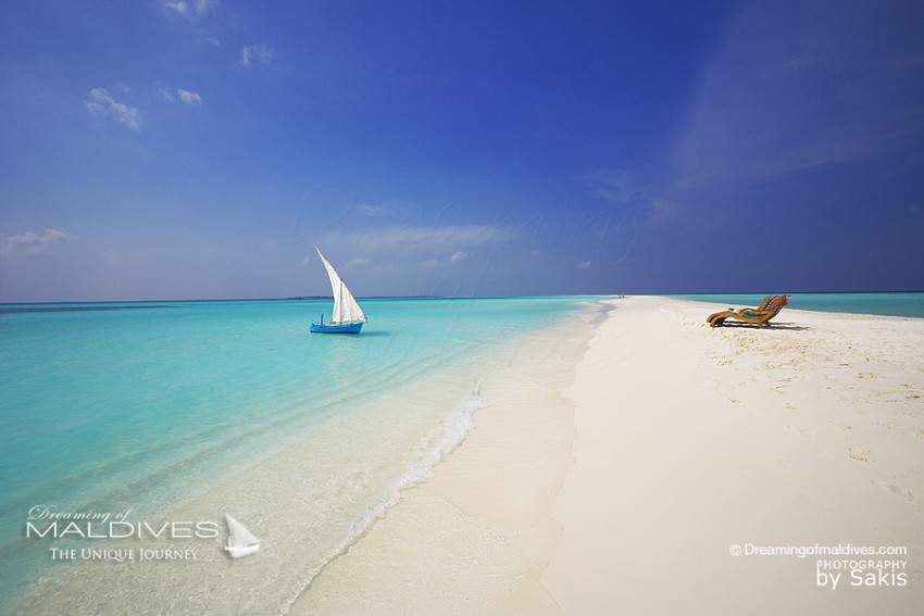 Une Plage Paradisiaque aux Iles Maldives