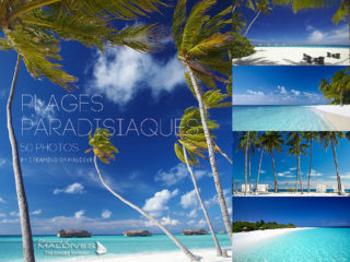 galerie de 50 photos de Plages paradisiaques des iles maldives