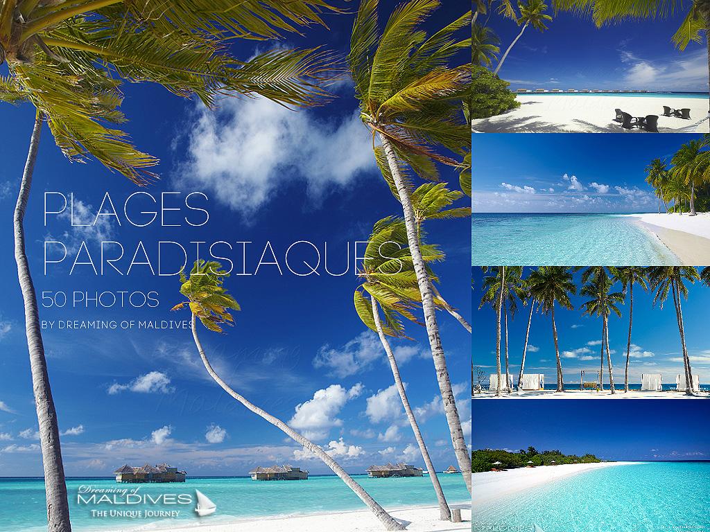 50 Photos de Plages Paradisiaques des Iles Maldives