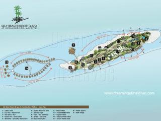 Plans de l'Hôtel Lily Beach Maldives