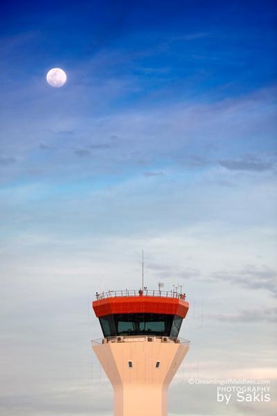 Photo du Jour : Pleine Lune aux Maldives