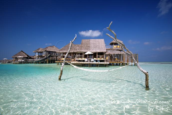 La Plus Grande Villa sur Pilotis au Monde. Hamac - La Private Reserve, Gili Lankanfushi Maldives