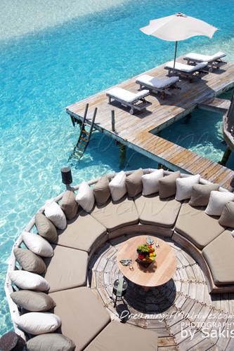 La Plus Grande Villa sur Pilotis au Monde. La Private Reserve, Gili Lankanfushi Maldives