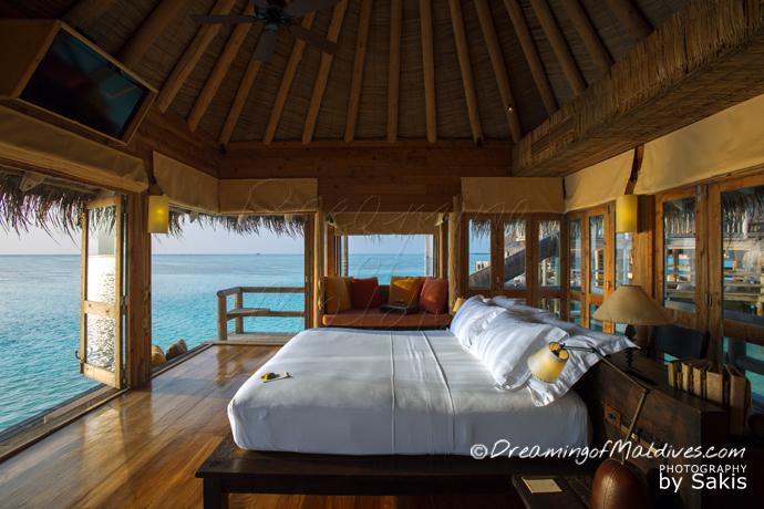 Chambre Suite de la Private Reserve- Gili Lankanfushi Maldives | Photo Sakis Papadopoulos