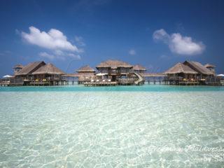 La plus belle et la grande villa sur Pilotis au monde, Gili Lankanfushi Maldives