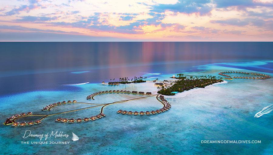 Ouverture Hotel Radisson Blu Resort Maldives ( Atoll Sud d'Ari ou Alifu Dhaalu ). Ouverture durant le dernier trimestre 2019