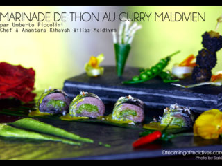 Recette Maldivienne - Marinade de Thon au Curry Maldivien