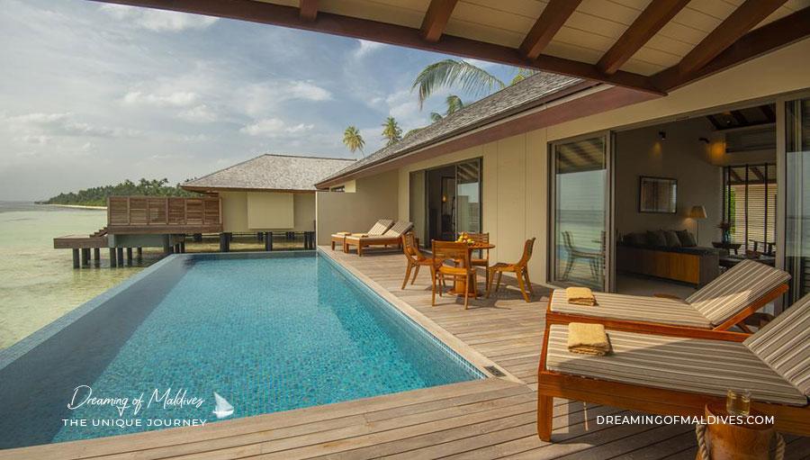 Ouverture Hotel The Residence Maldives at Dhigurah ( Atoll de Gaafu Alifu ). Ouverture en Juin 2019