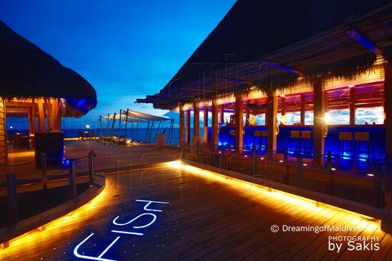 W Retreat and Spa Maldives - Restaurant grill FISH, Vue extérieure