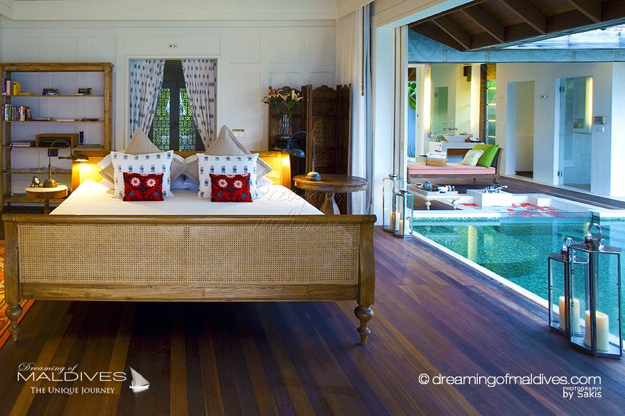 photo de salles de bain de rêve. les plus belles salles de bain baignoires et jacuzzis vus aux Maldives naladhu maldives