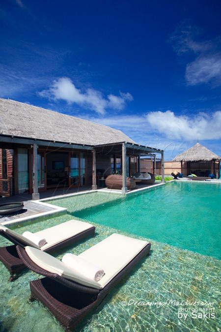 Shangri La Villingili meilleure villa sur pilotis maldives