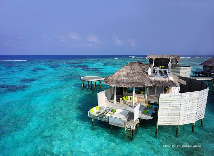 Six Senses Laamu TOP 10 Meilleurs Hôtels des Maldives 2014