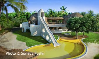 Le Den à Soneva Fushi