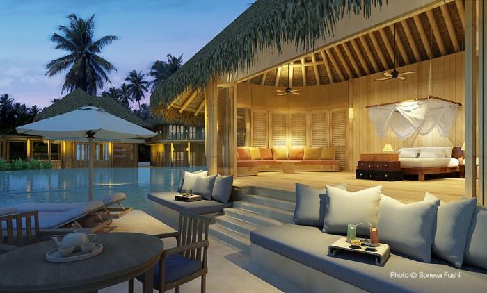 Soneva Fushi TOP 10 Meilleurs Hôtels des Maldives 2014