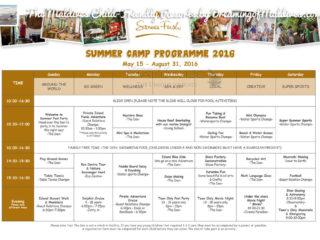 Le Programme et les activités du club-enfant à   Soneva Fushi