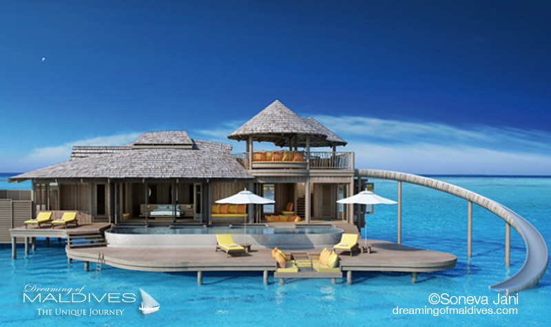 Ouverture nouvel hôtel 2016 Maldives Soneva Jani