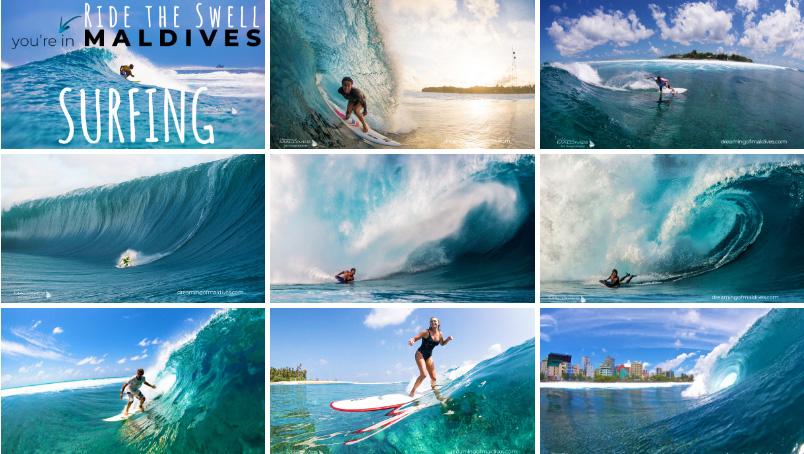 Galerie de Photos de Surf aux Maldives