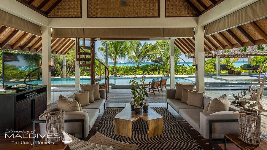 top 10 hôtels de rêve des maldives 2015 Four Seasons Landaa Giraavaru