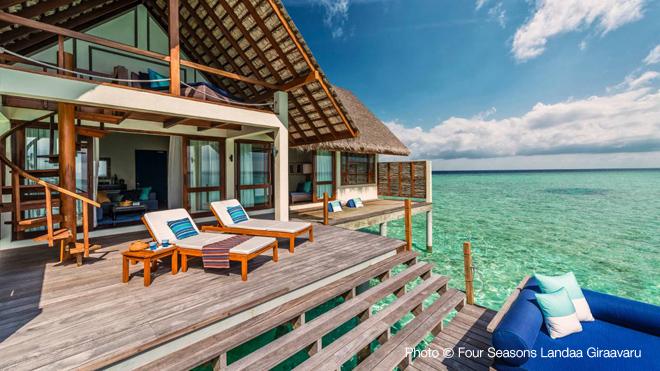 4 seasons Landaa Giravaru Maldives Top 10 Meilleurs Hotels des Maldives Annee 2013