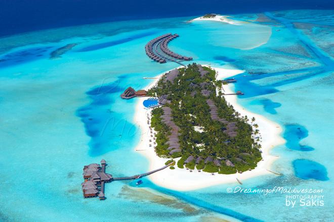 Top 10 Meilleurs Hotels des Maldives Annee 2013 Anantara Dhigu