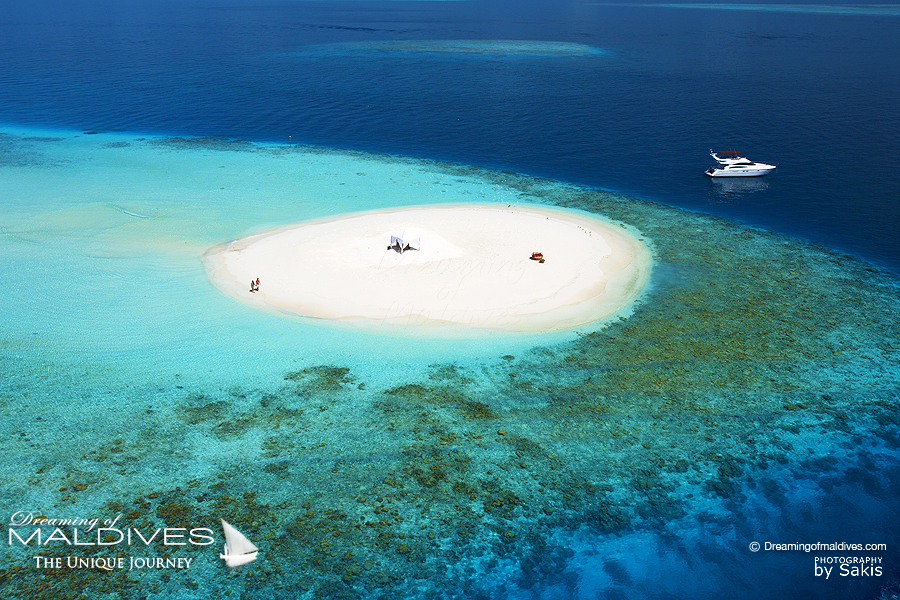 TOP 5 des Choses à faire à Hôtel Baros maldives - S'échapper sur un banc de sable