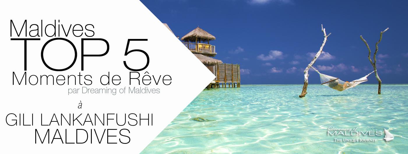 5 choses incontournables à faire à l'Hôtel Gili Lankanfushi Maldives