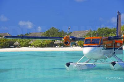 Transfert dans un resort des Maldives en hydravion avec Maldivian Air Taxi