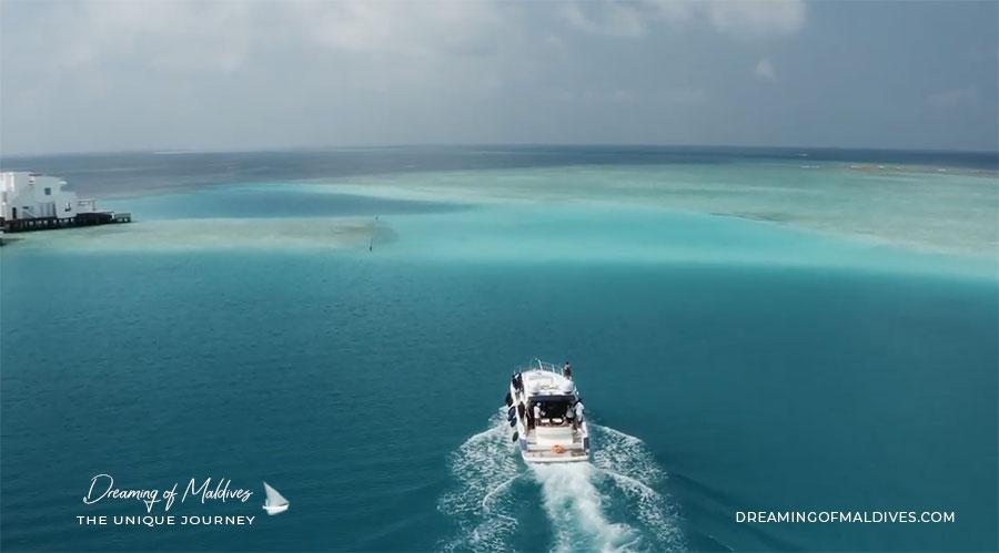 Transfert bateau LUX* North Male Atoll Maldives