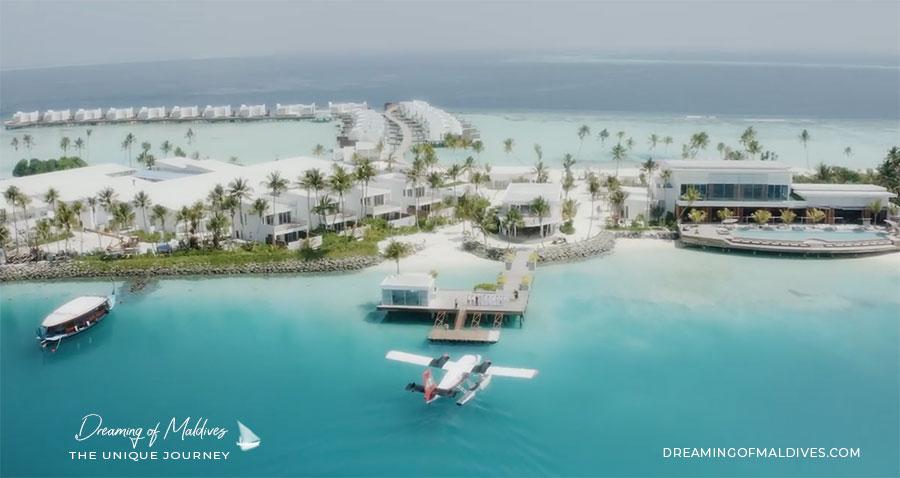 Transfert hydravion LUX* North Male Atoll Maldives
