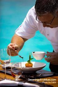 Chef Umberto Piccolini Anantara Kihavah Maldives