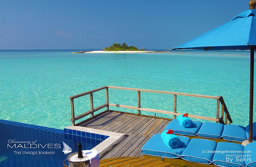 villa sur pilotis avec piscine te vue lagon anantara dhigu le blog des iles maldives le. Black Bedroom Furniture Sets. Home Design Ideas