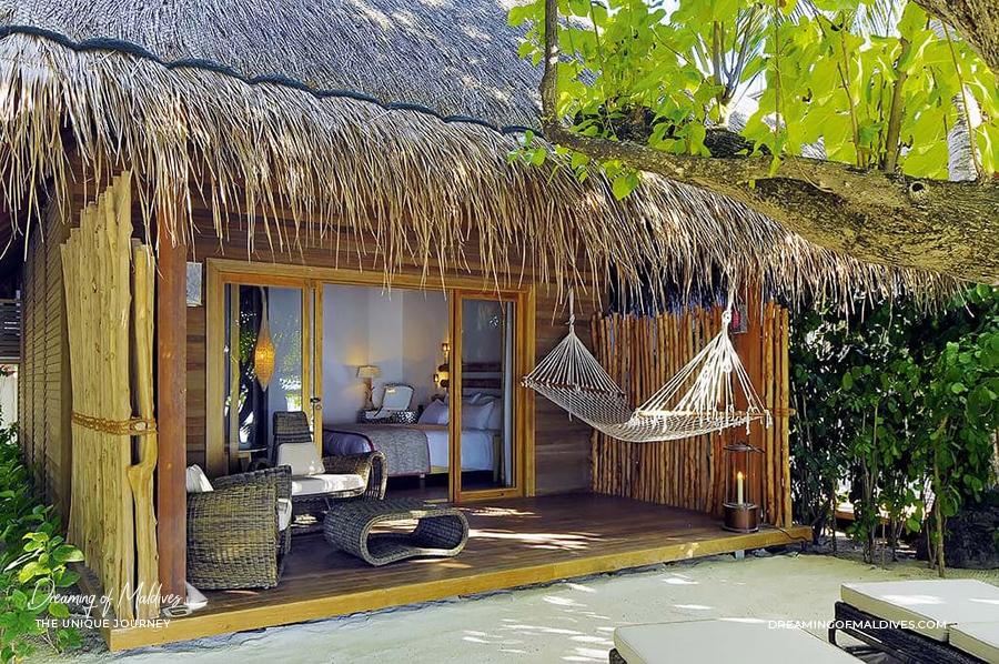 Les plus belles villas sur plage aux Maldives . La Villa Sur Plage à Constance Moofushi The Beach Villa