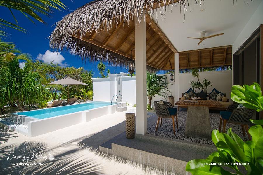 Villa Sur Plage à Finolhu Maldives - Private Pool Villa