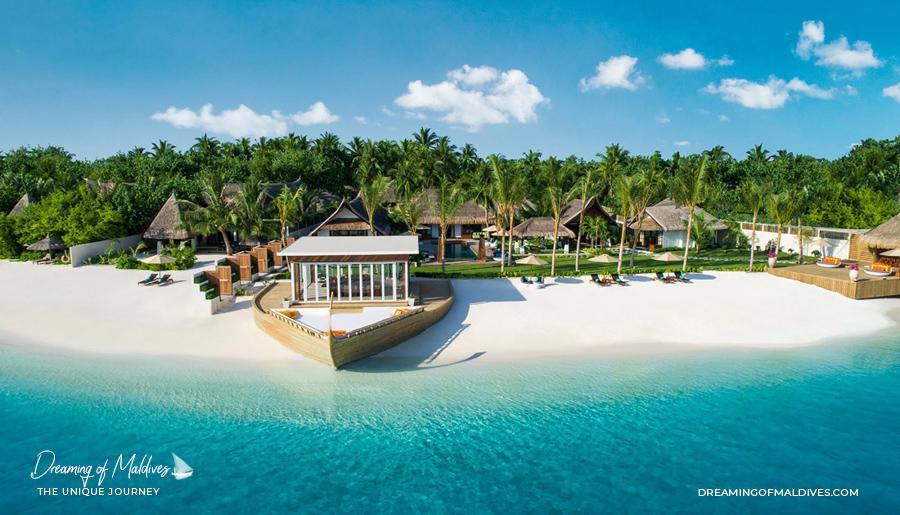 Les plus belles villas sur plage aux Maldives. La Résidence Royale à Jumeirah Vittaveli The Royal Residence