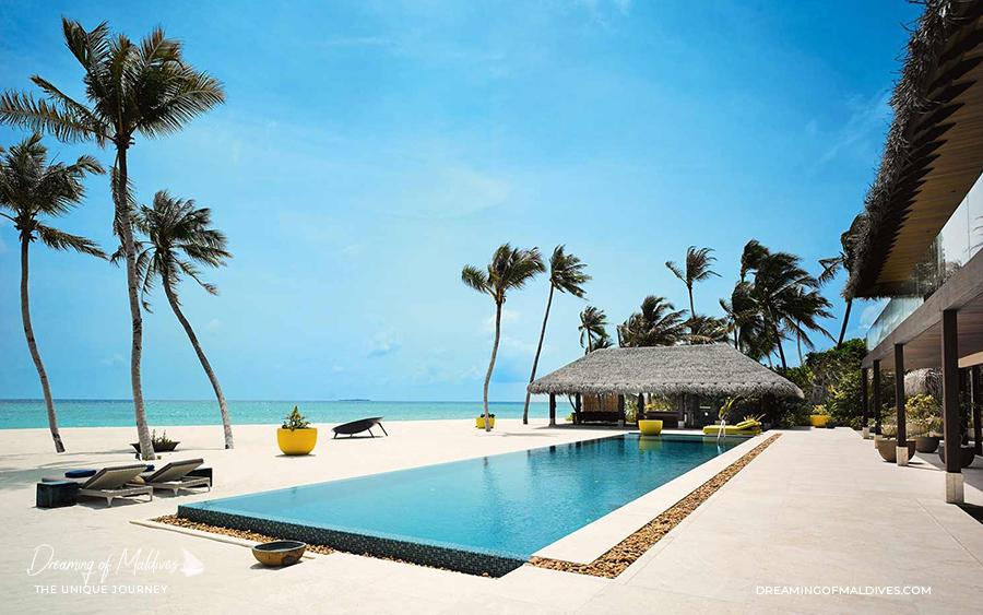 Les plus belles villas sur plage aux Maldives . La Résidence Privée à Velaa Private Island The Private Residence