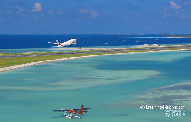 vol sur les Maldives avec Emirates