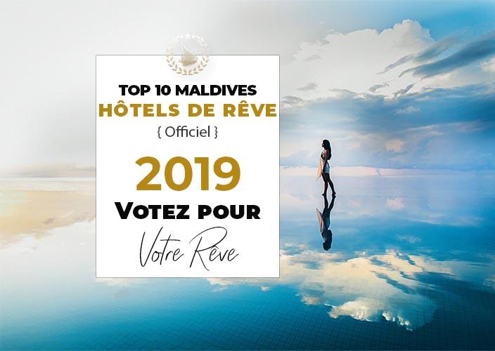 Classement meilleurs hôtels des Maldives . Choix Voyageurs