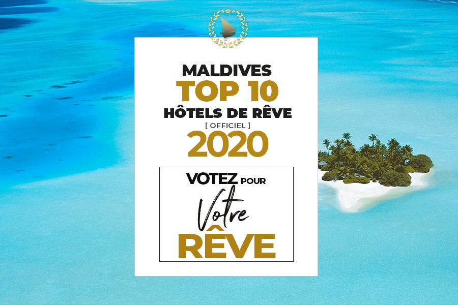 Classement TOP 10 Hôtels de Rêve des Maldives Les plus Beaux Hôtels