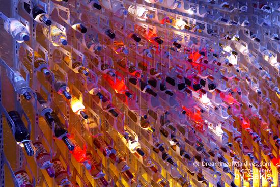 W Retreat and Spa Maldives - Close-up sur l'incroyable Collection de Vodkas du 15 Below
