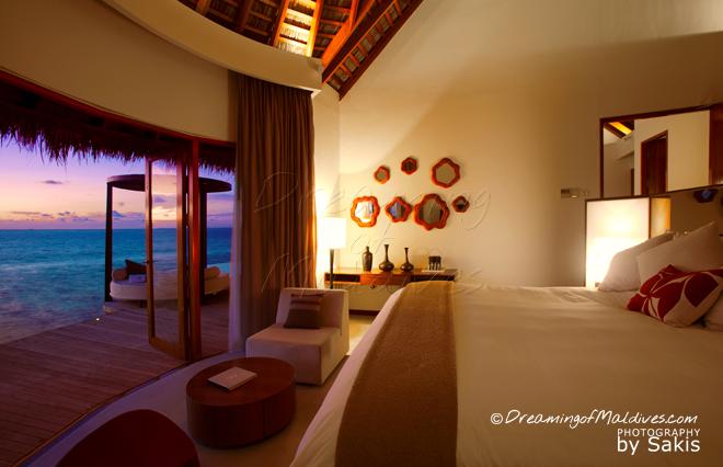 W meilleure villa sur pilotis maldives