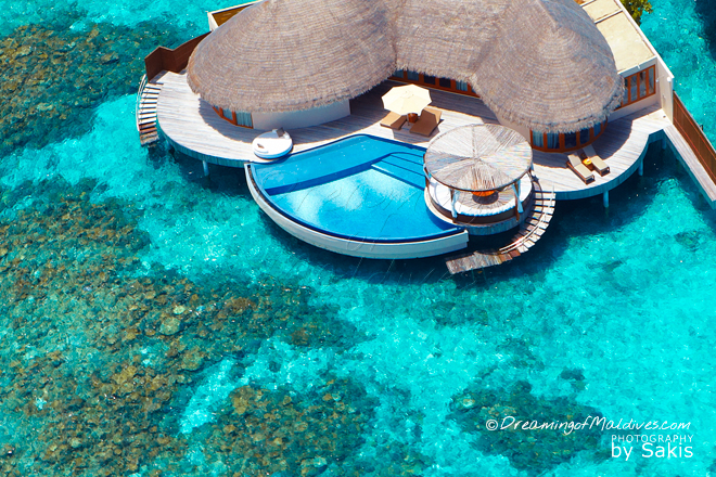 W Maldives meilleure villa sur pilotis maldives