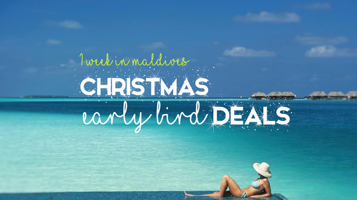 Maldives 2018 Christmas Deals
